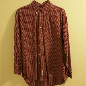 Other - Red plaid  Alabama Crimson Tide button down